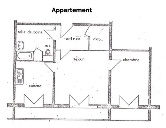 Plan feng shui appartement